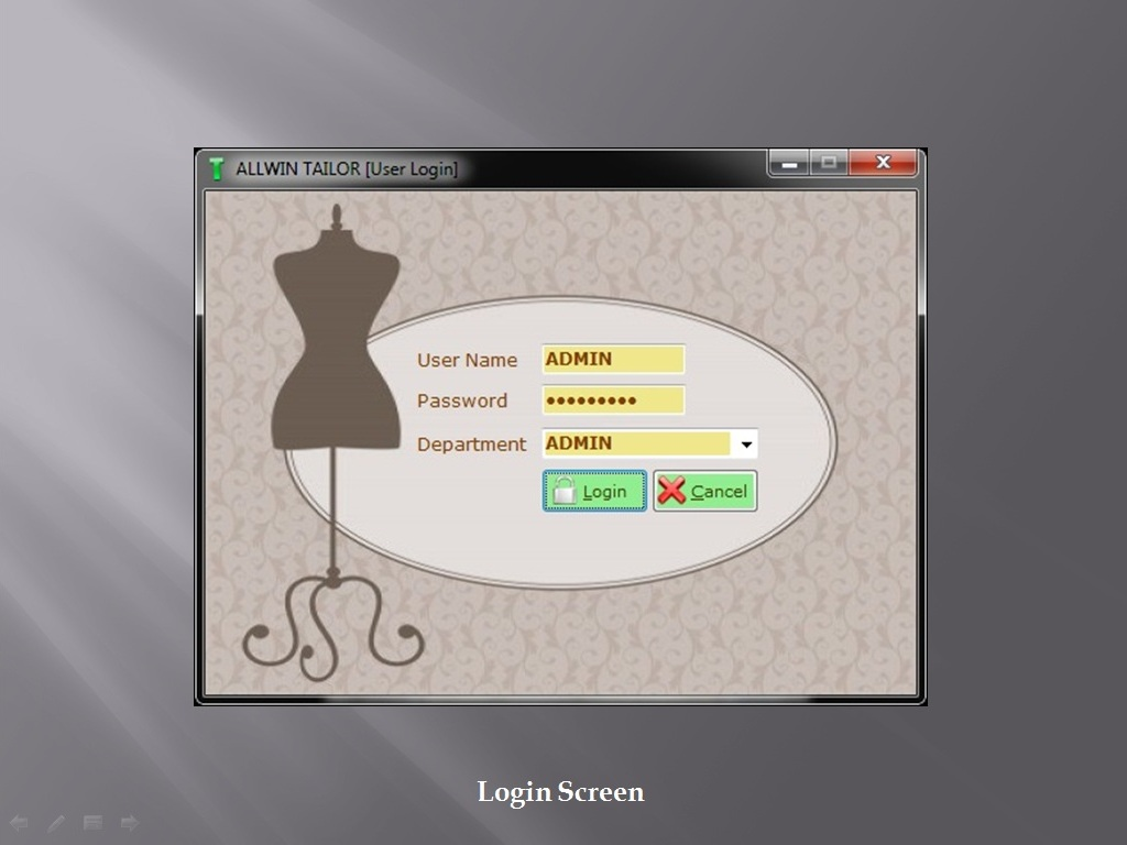 Tailor Software Login - Sunrise Sfotware