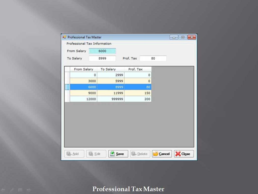 Professional Tax Master - Sunrise Software